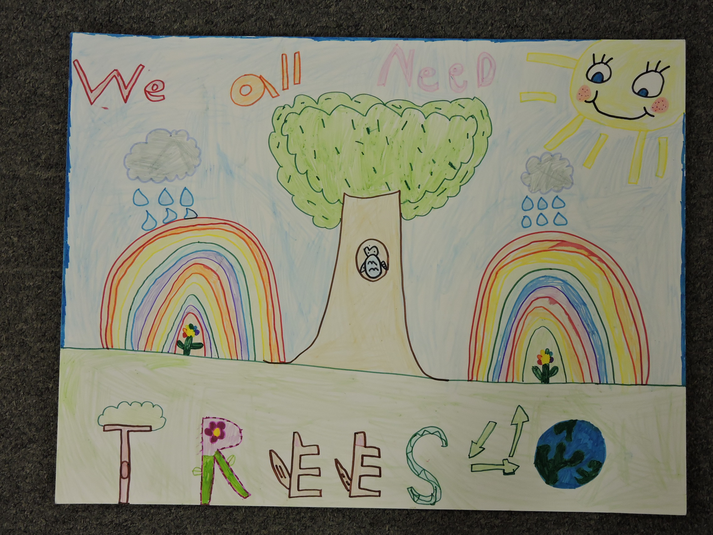1st Place – Diamond Rayne Stover – Plains Elementary School
