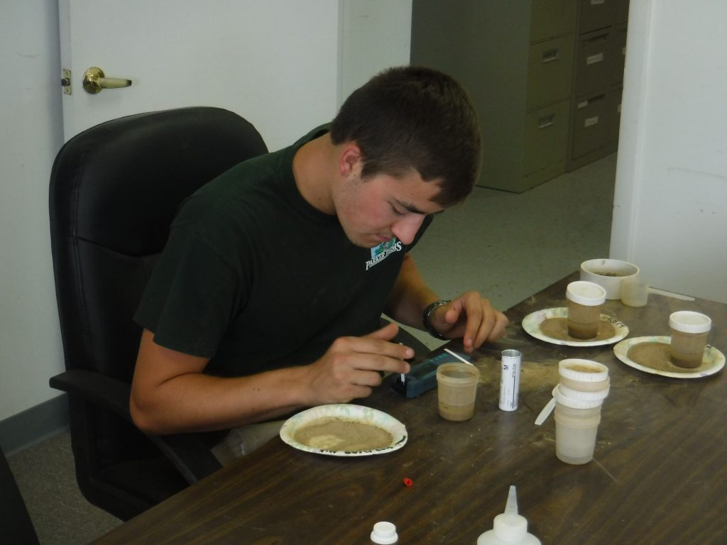 2016 Summer Intern-Soil Sample Analysis